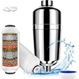 ANEAR Shower Filter, 16 Stage Shower Head Filter for Hard Water, Shower Water Filter with Replaceable Filter Cartridges…