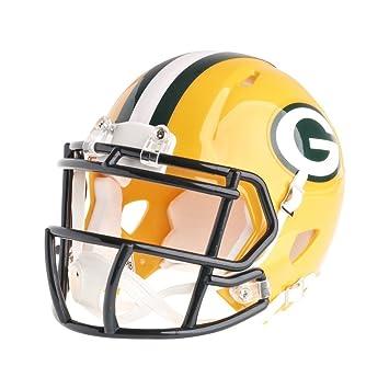 Riddell Mini casco de fútbol americano – NFL velocidad verde Bay Packers