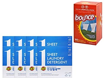Lote de sábanas para suavizante de tela de Bounce (160 unidades ...