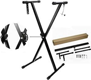 Piano Keyboard Standard Adjustables Metal Electronic Piano X Double Stand Music Keyboard Standard Rack