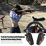 Tactic Ear Protection Earmuffs Noise Cancelling Hearing Protection Folding Headphones Headset for Outdoor Hunting Shooting