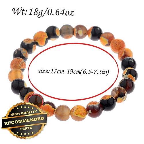 d82790aa4f461 Amazon.com: Gatton New Handmade Stone Beads Healing Reiki Balance ...