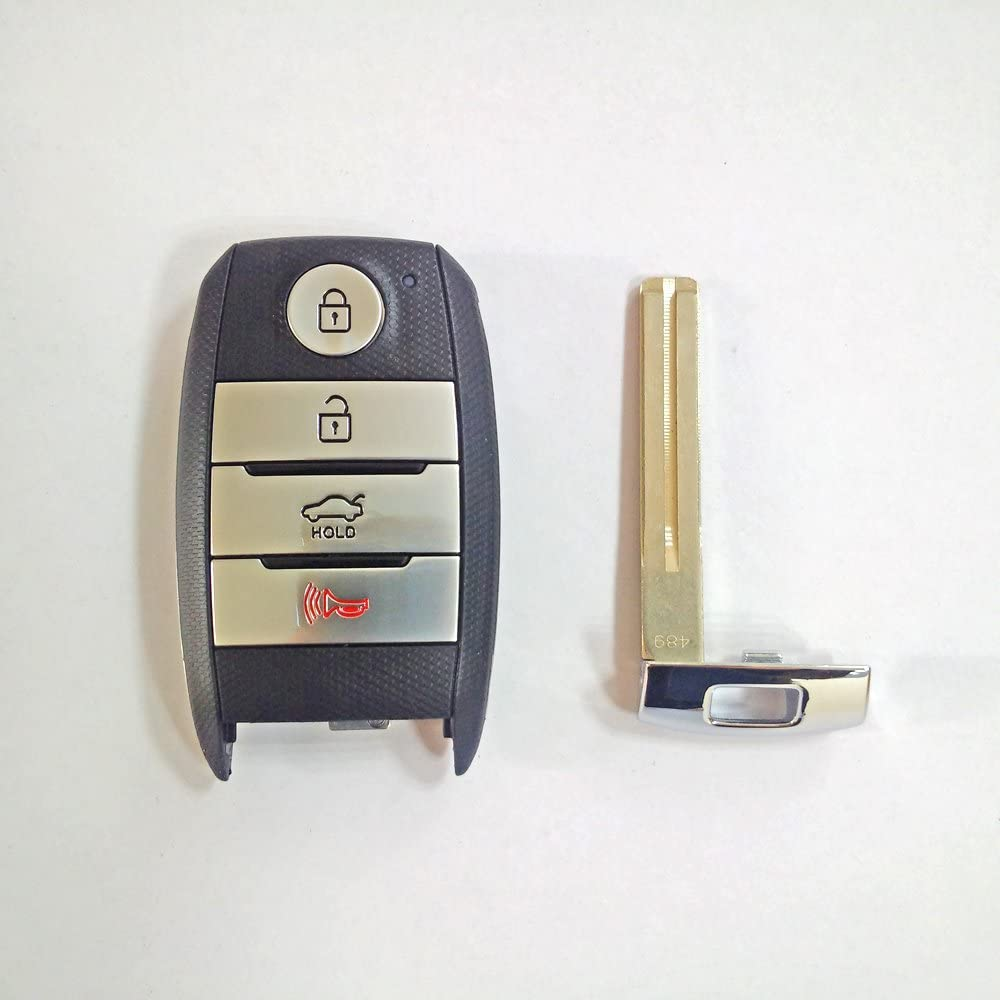 NEW K5 OEM Genuine Smart Key Remote /& Blanking 2p For 2014 2015 Kia Optima