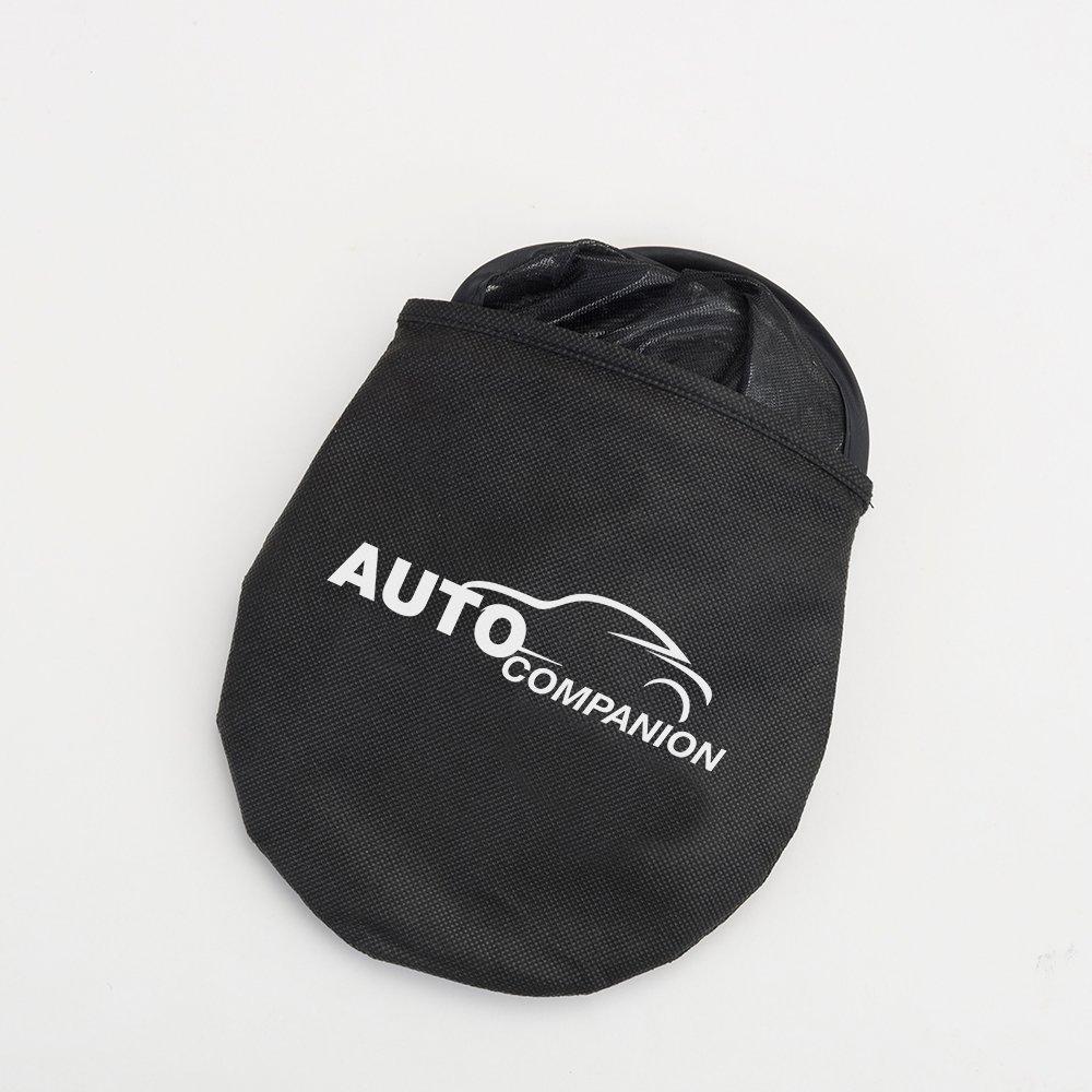 protecci/ón para tus hijos sin ventosas Juego de 2 parasoles universales para ventanillas de coche Auto Companion bloquean los rayos UV da/ñinos y protegen del calor y los deslumbramientos