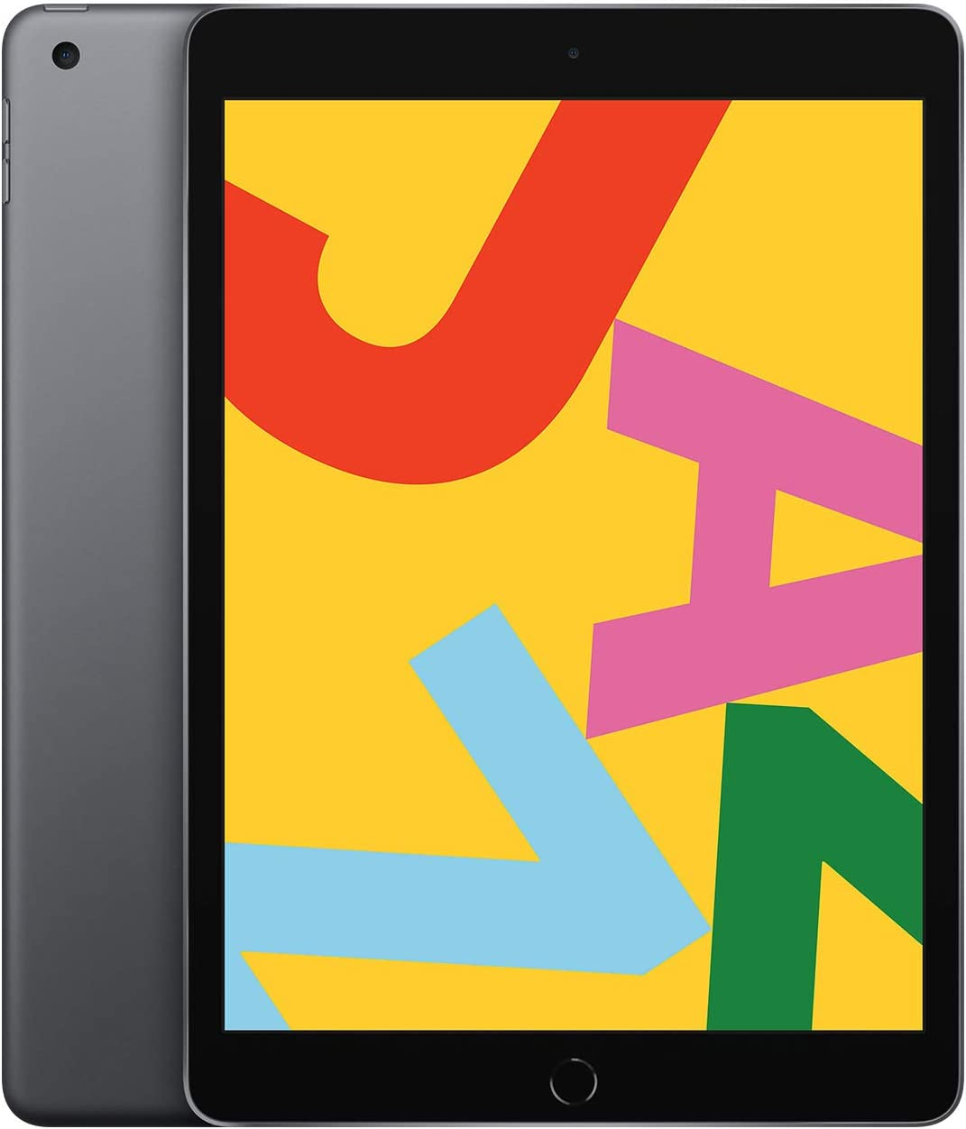 "128GB Apple iPad 7th Gen 10.2"" WiFi Tablet (2019 Model, Space Gray)"