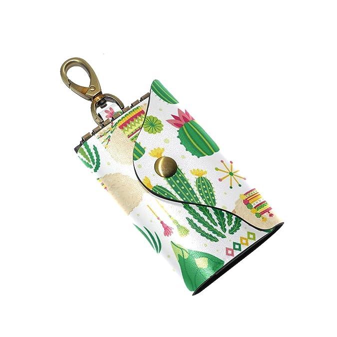 Amazon.com: Funda de piel para llaves, diseño de camello y ...