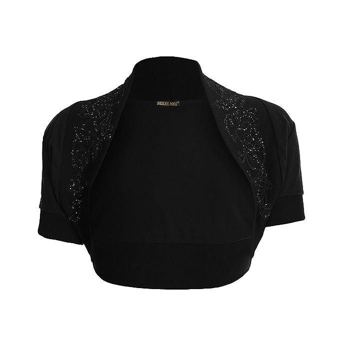 New Women// Ladies Boleros and shrugs Cardigan with Sequins Design