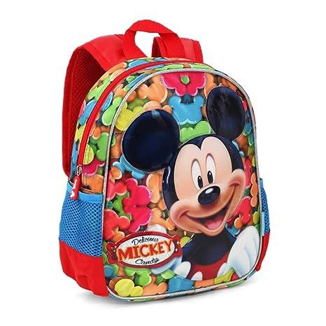 Karactermania Mickey Mouse Delicious Mochilas Infantiles, 30 cm, Rojo