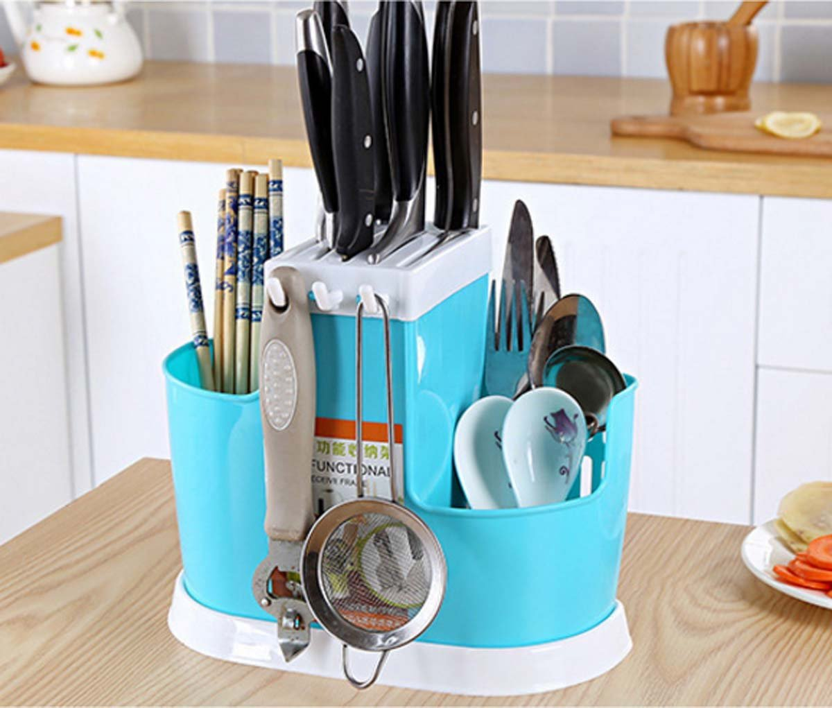 Groß Kreative Küchengerät Halter Bilder - Küche Set Ideen ...