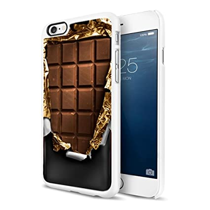 Amazon.com: Apple iPhone 6 Funda – Chocolate con leche Bar ...