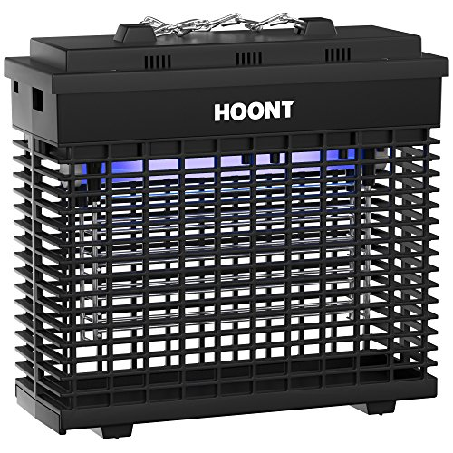 Hoont Powerful Electric Indoor Bug Zapper And Fly Zapper Catcher Trap Killer   Protects 2 000 Sq  Ft Fly And Bug Killer  Insect Killer  Mosquito Killer   For Residential  Commercial And Industrial