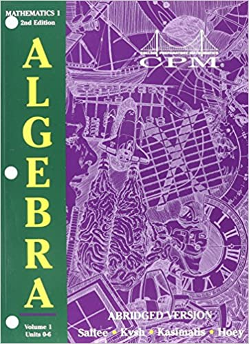 College Preparatory Mathematics 1: Algebra 1 Version 6.1, Volume 2 ...