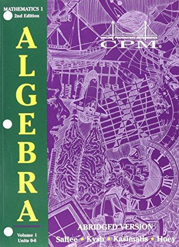 ^DOWNLOAD FREE# College Preparatory Mathematics 1: Algebra ...