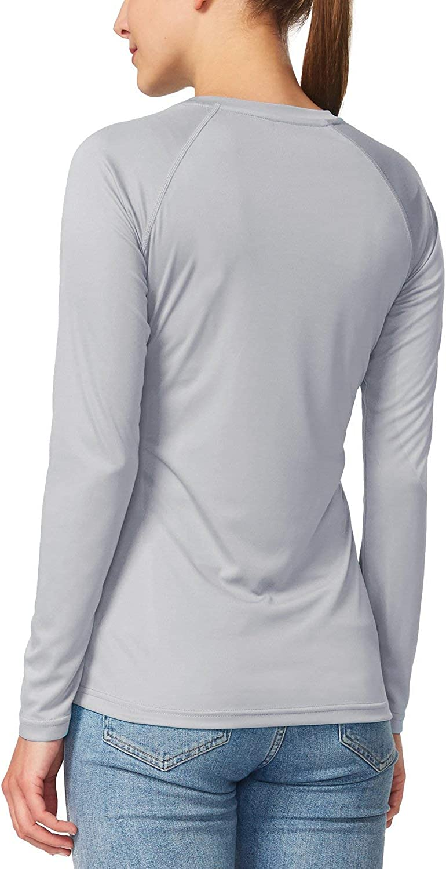 Rashguard Outdoor Clothing Running Hiking SPF Shirts BALEAF Womens Long Sleeve Sun//UV Protection T-Shirt UPF 50