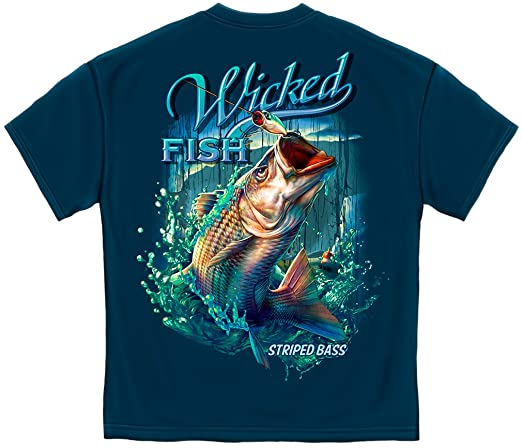 Review Fishing T-Shirt Wicked Fish