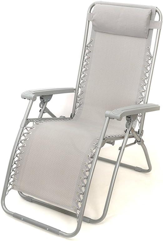 Sillas Zero Gravity - Tumbonas Plegables y reclinables Twin Pack Hechas de Tela de Acero y Tela de Textile para Patio, jardín de Invierno, jardín: Amazon.es: Hogar