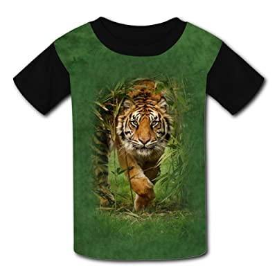 Mmm fight Tiger Light Weight Short Sleeve 2017 The Latest Version for Girlsfree Postage