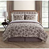 VCNY Home Avon 8pc Comforter Set, Full, Multicolor