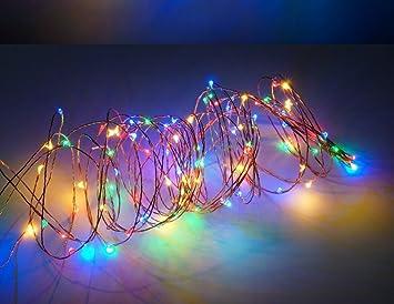 Amazon led fantasy led fairy lights christmas lights outdoor led fantasy led fairy lights christmas lights outdoor string lights 130 inches aloadofball Choice Image