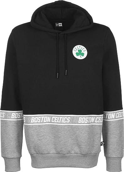 New Era NBA Colour Block Boston Celtics Sweat à Capuche