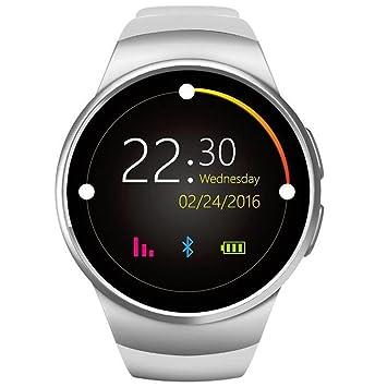 Seguimiento de Actividad Fitness Tracker redondo pantalla ...
