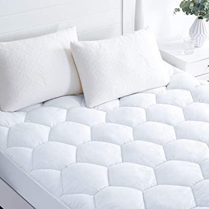 Amazon Com Favorland Twin Xl Mattress Pad Mattress Cover For Twin