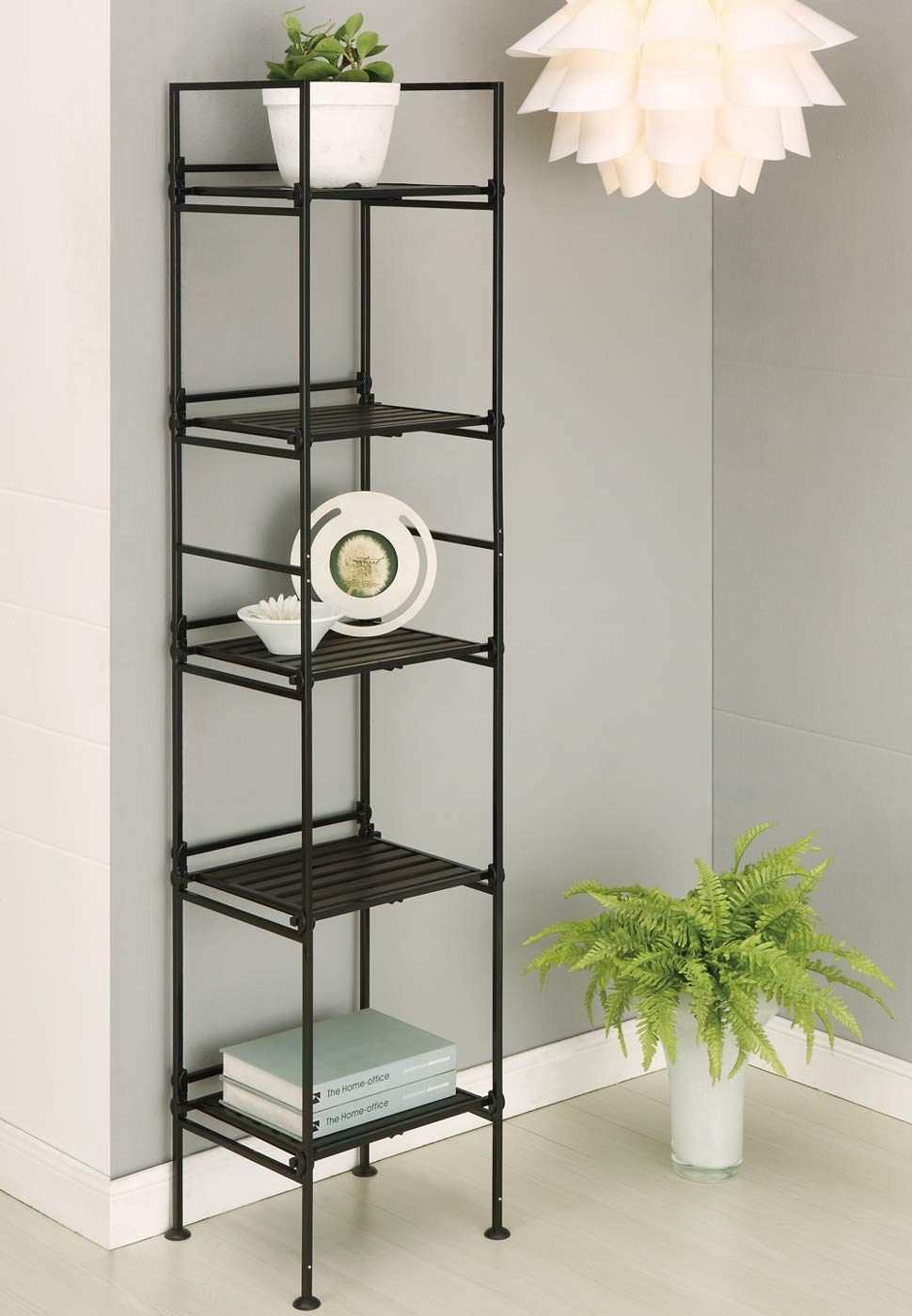 SKB family 5 Tier Square Shelf by Neu Home, 56.63'' x 11.38'' x 19 lbs