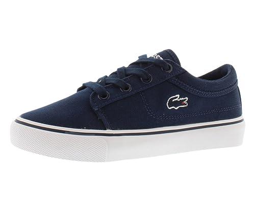 b50572e5d Lacoste Vaultstar FSM Preschool Kid s Shoes Size 1 Dark Blue