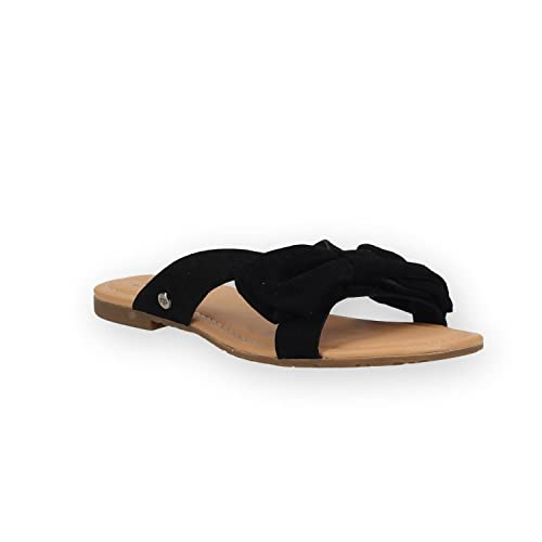 Sandale UGG Fille En Ligne, UGG Fonda Noir