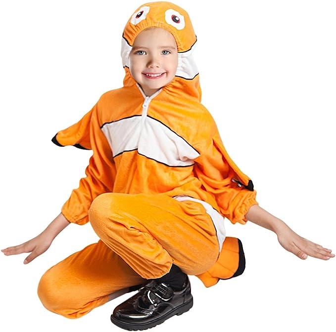 Traje de pescado, F124 tamaño 4-5 anos, para niños pequeños y ...