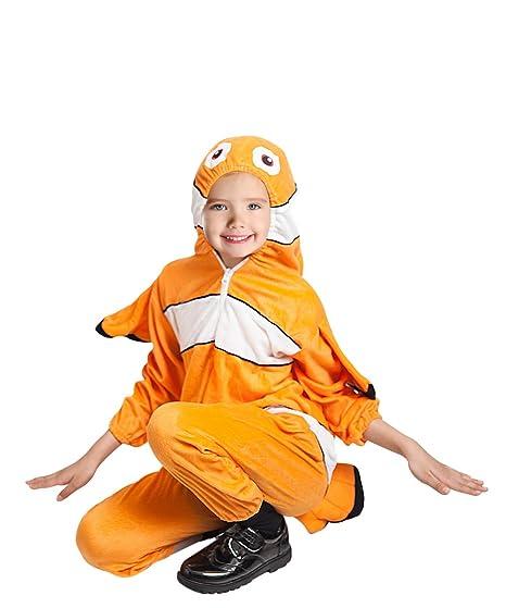F124 Costume da Pesce Taglia 2-3 Anni 03fb5f667ea
