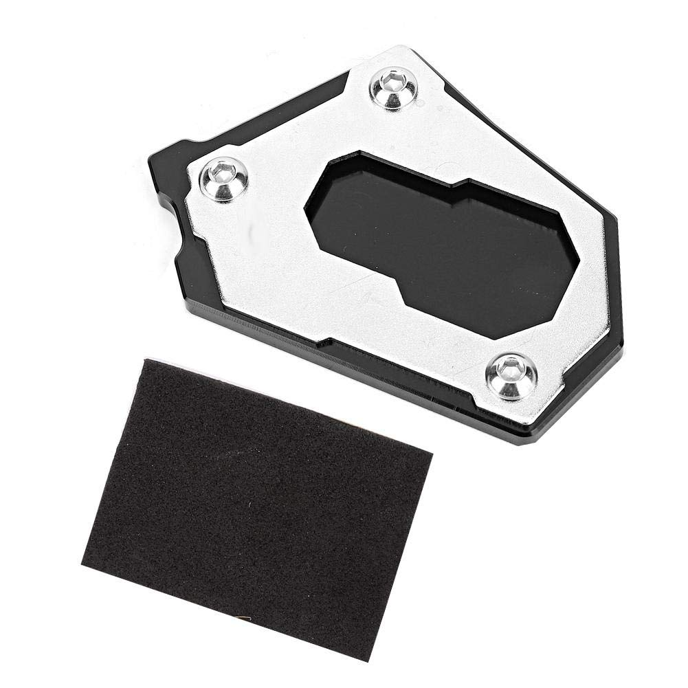 Side Stand Extension, CNC Aluminium Kickstand Side Stand Extension Plate Pad Enlarge Support Non-Slip for R1200GS LC 2013-2017 by Suuonee