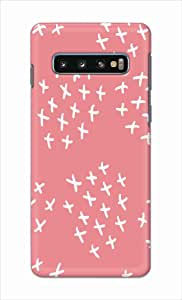 Okteq thin slim fit case forSamsung Galaxy S10 - white X by Okteq