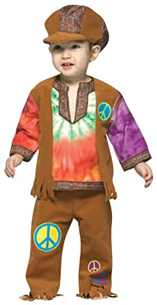 27a0d95f6 Amazon.com: Little Hippie Toddler Costume - Toddler: Clothing