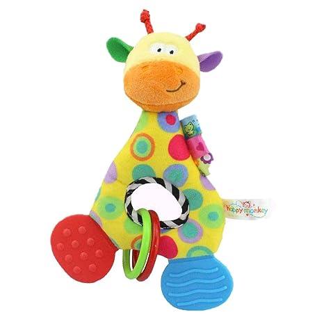 Branger Juguetes Bebe, Carro Bebe Juguete, Confort Crystal Fine Hair Sensory Toys para Bebés