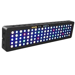 MarsAqua Dimmable LED Aquarium Coral Reef Light