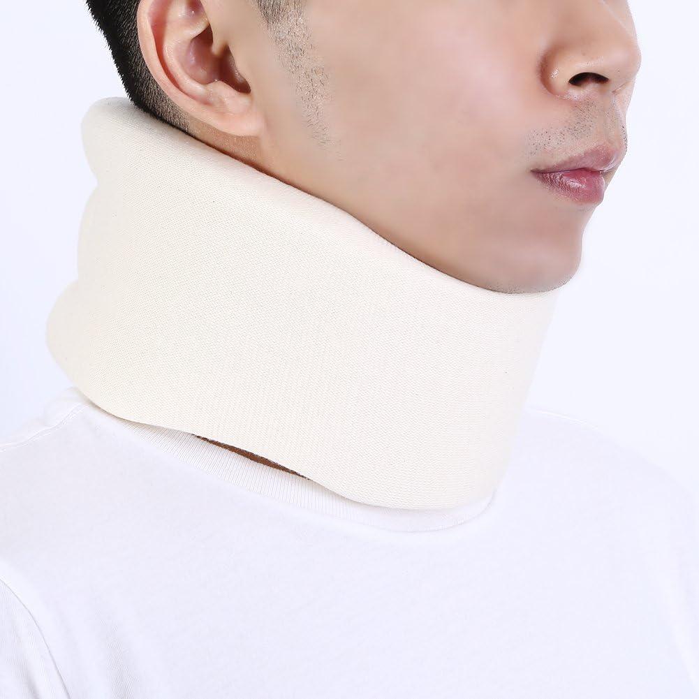 Salmue Ortesis para el Cuello, Collar Cervical, Terapia de Apoyo, Alivio del Dolor de Cuello, Cuello Cervical Ajustador de la Envoltura del Cuello Ortesis para el Cuello Ortopédico (M)