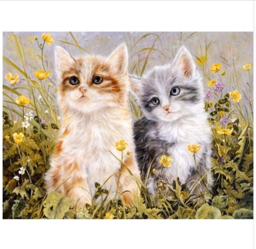 DIY Pintura Digital Por Números Dos Gatos Garfield Pintura Al Óleo ...