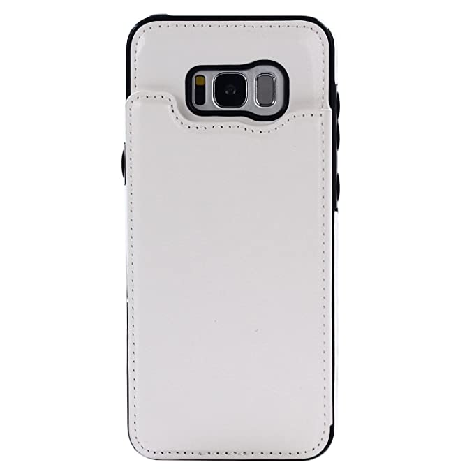 Amazon.com: croazhi Samsung Galaxy S8 portafolios Funda de ...