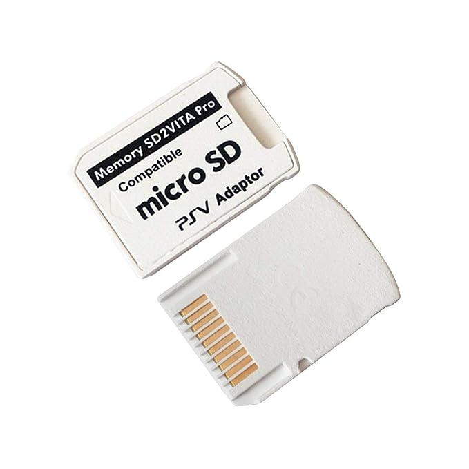 Lorenlli Adaptador SD2VITA Fit versión Profesional 5.0 para PS ...