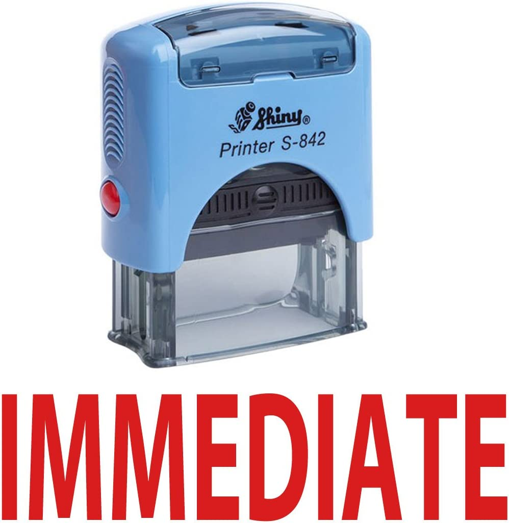 Urgent Office Self-Inking Office Rubber Stamp