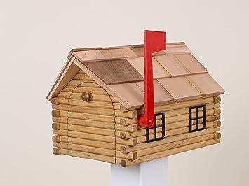 Exceptionnel Log Cabin Mailbox