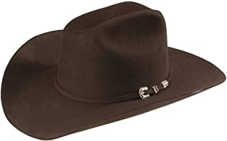 product image for Stetson Men's 6X Skyline Fur Felt Western Hat Chocolate 6 3/4
