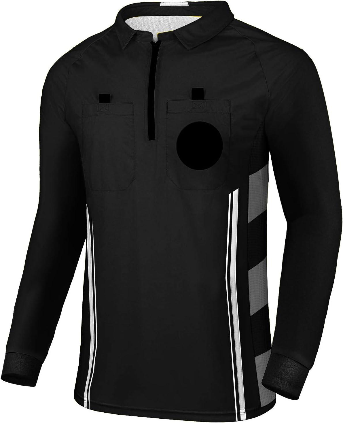 Yuar USSF Pro Soccer Long Sleeve Referee Shirt