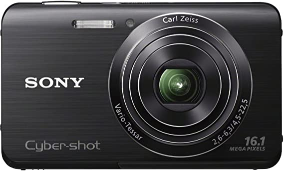 Sony Cyber-shot DSC-W650 16.1 MP Digital Camera with 5x Optical Zoom and 3.0-Inch LCD (Black) (2012 Model)