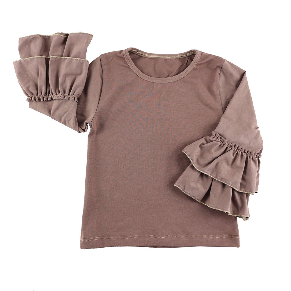 VduanMo Baby Girls Cotton Ruffle T Shirt Tops VDM-608