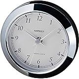 ナポレックス 車用時計 アナログクロック シンプルな配線不要タイプ クォーツ時計 汎用 Fizz-885