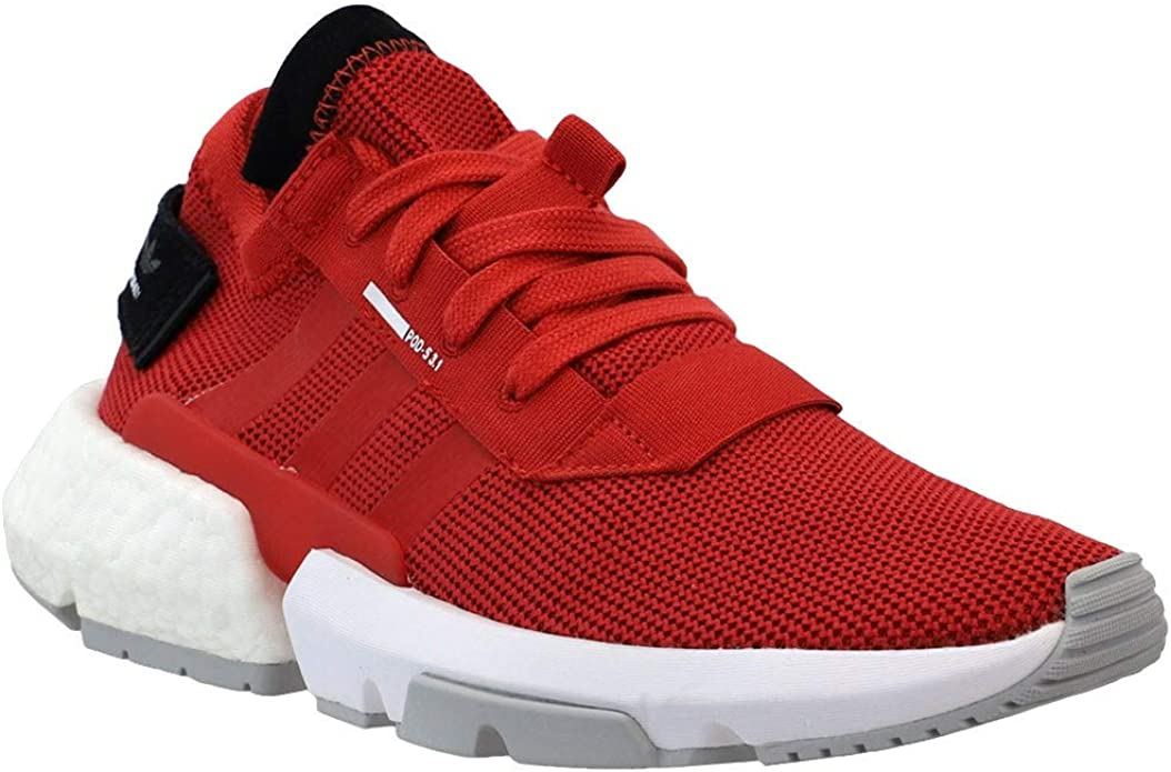 adidas Kids Boys Pod-S3.1 Lace Up Sneakers Shoes Casual - Red