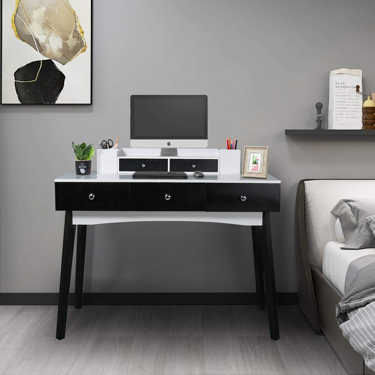 39.37 inch Home Office Writing Desk Station