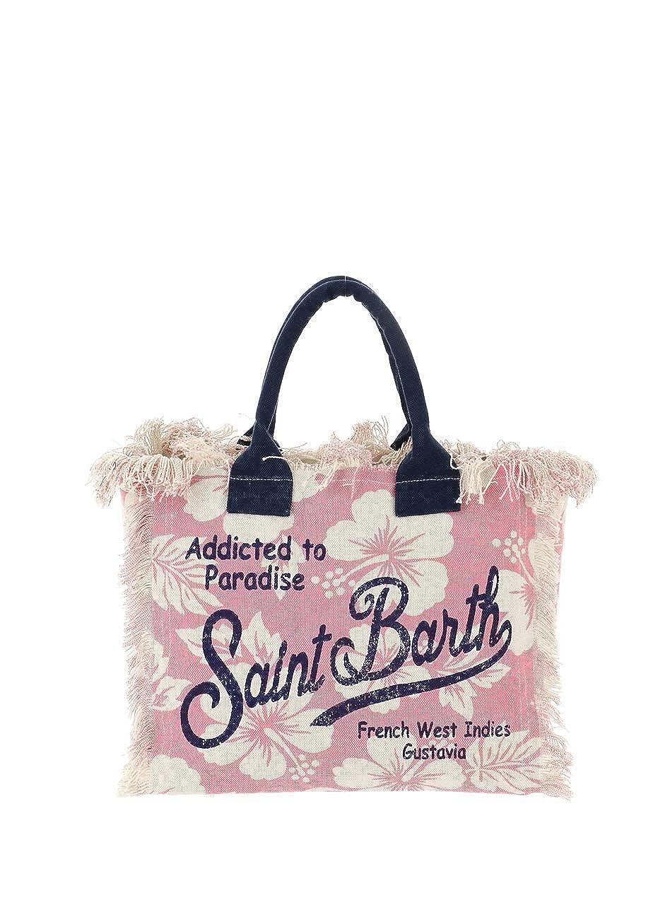 Saint Barth MC2 Borsa Donna Vanity-Hawai Ibiscus